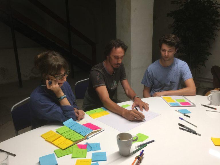 Atelier UX et brainstoriling chez Hipppocampe