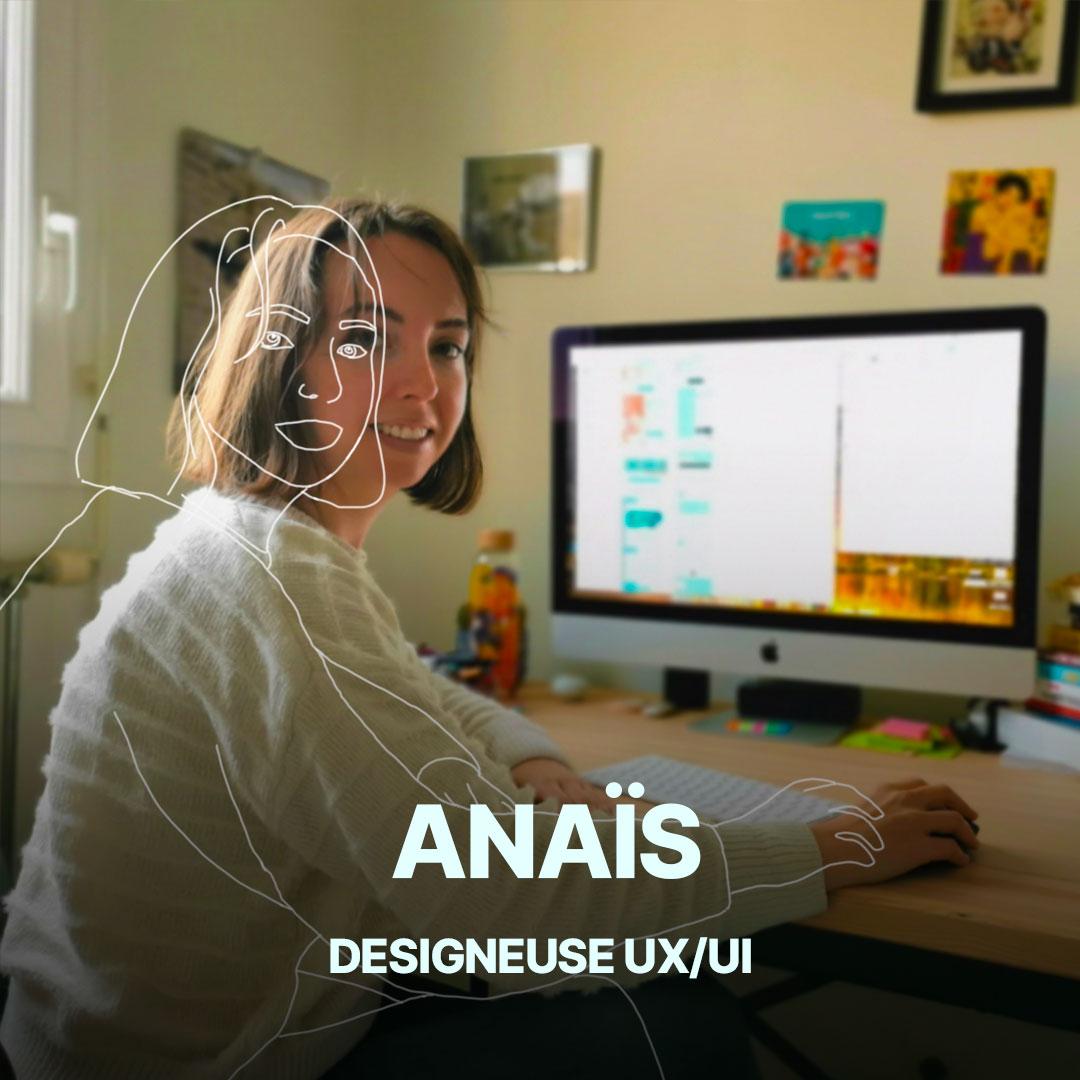 Anaïs, UX designeuse de l'agence Hippocampe