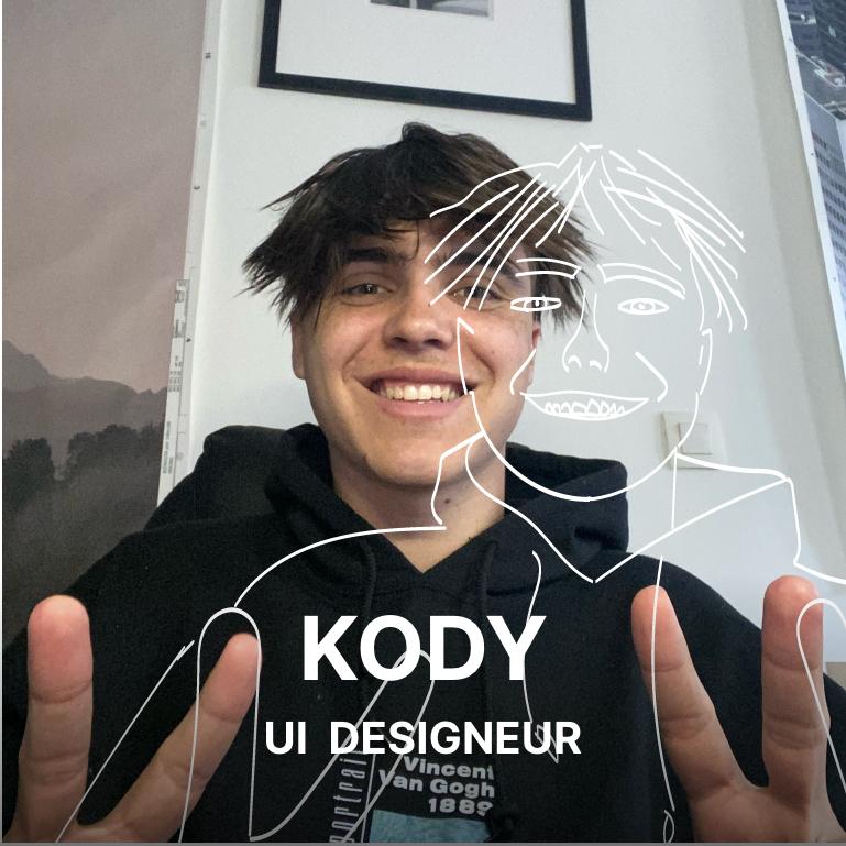 Kody, UI designeur de l'agence Hippocampe